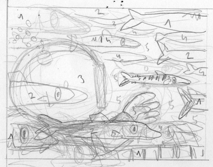 Skizze von Matthias Picard
