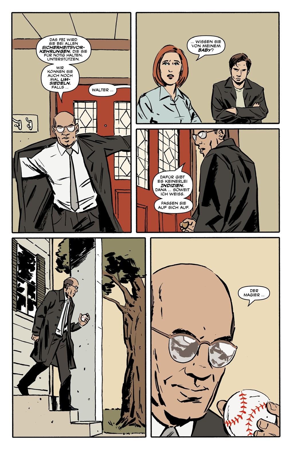 Seite aus Akte X Staffel 10 1