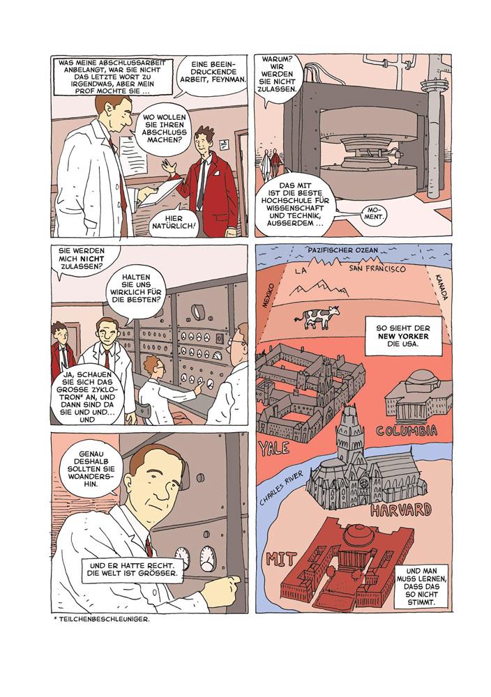 Beispielseite aus Feynman – ein Leben auf dem Quantensprung