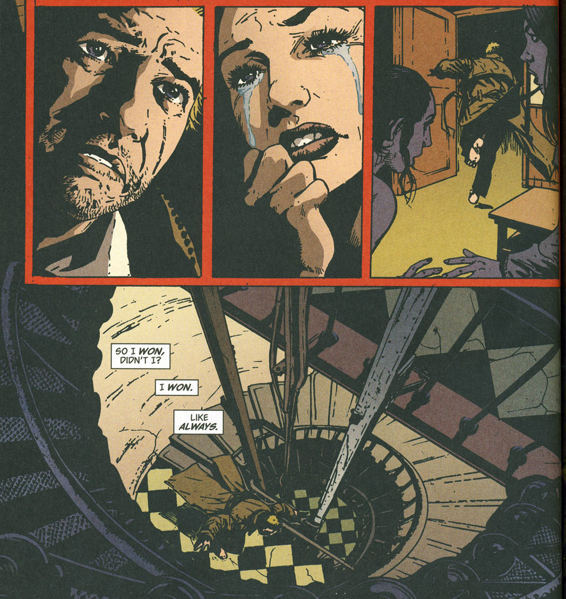 Bild 15,  Hellblazer 212 – Down in the ground where the dead men go (Carey, Manco), DC Comics 2005