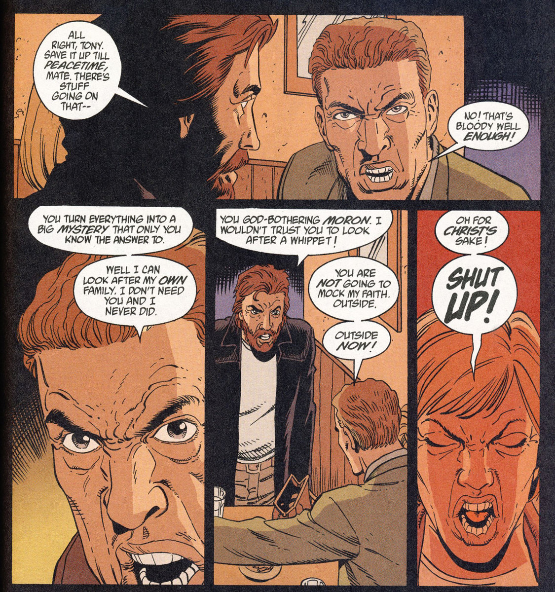 Bild 1, Hellblazer 175 – High on Life (Carey, Dillon), DC Comics 2002