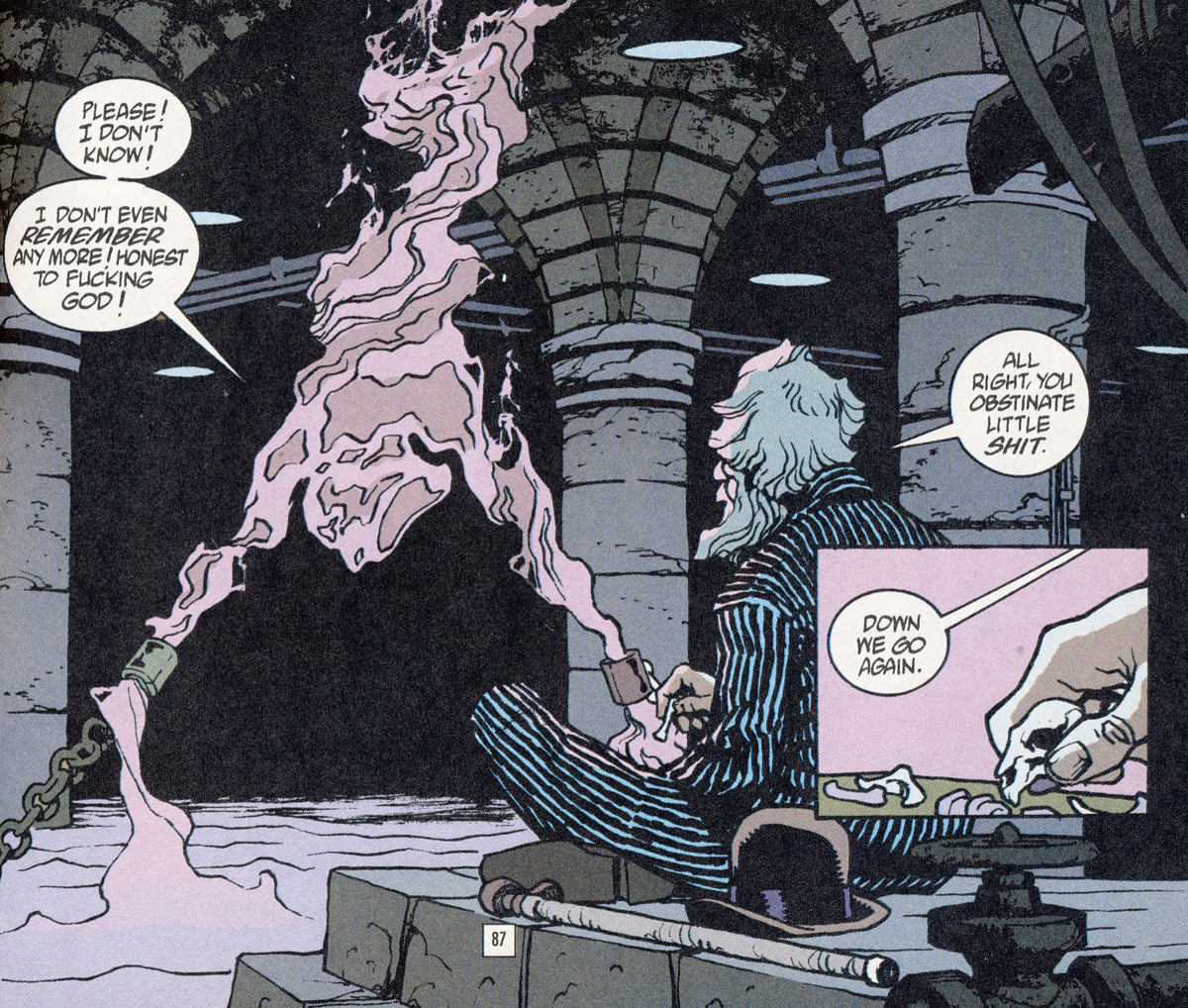 Bild 2, Hellblazer 178 – Red Sepulchre (Carey, Frusin), DC Comics 2003