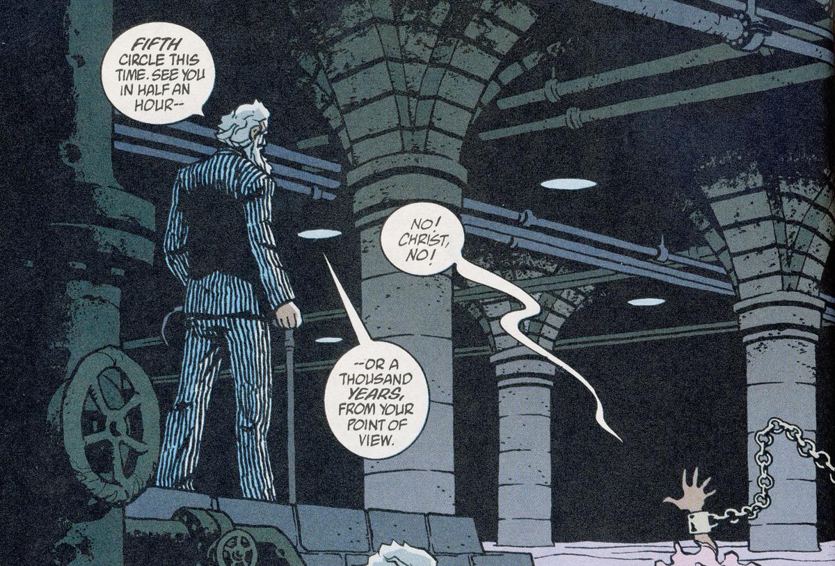 Bild 3, Hellblazer 178 – Red Sepulchre (Carey, Frusin), DC Comics 2003