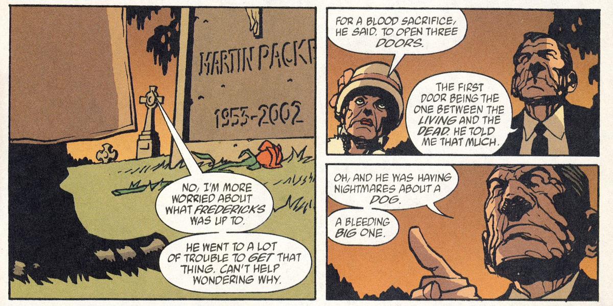 Bild 4, Hellblazer 180 – Red Sepulchre (Carey, Frusin), DC Comics 2003
