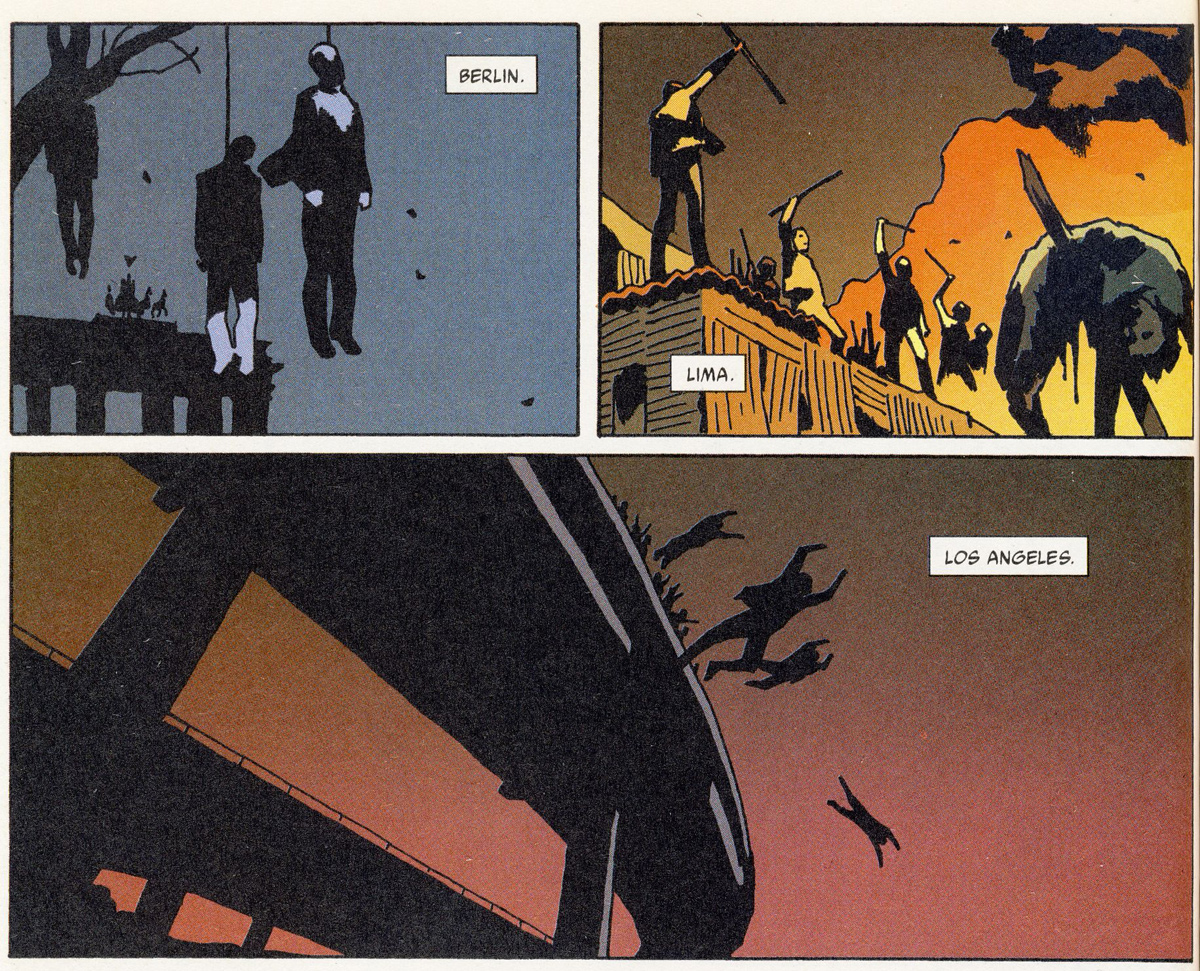 Bild 7, Hellblazer 192 – Staring at the wall (Carey, Frusin), DC Comics 2004