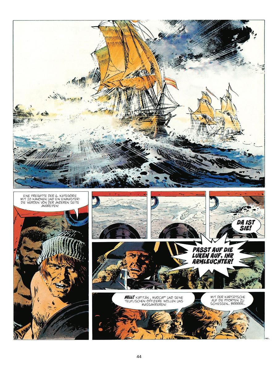 Seite aus Bruce J. Hawker GA 1