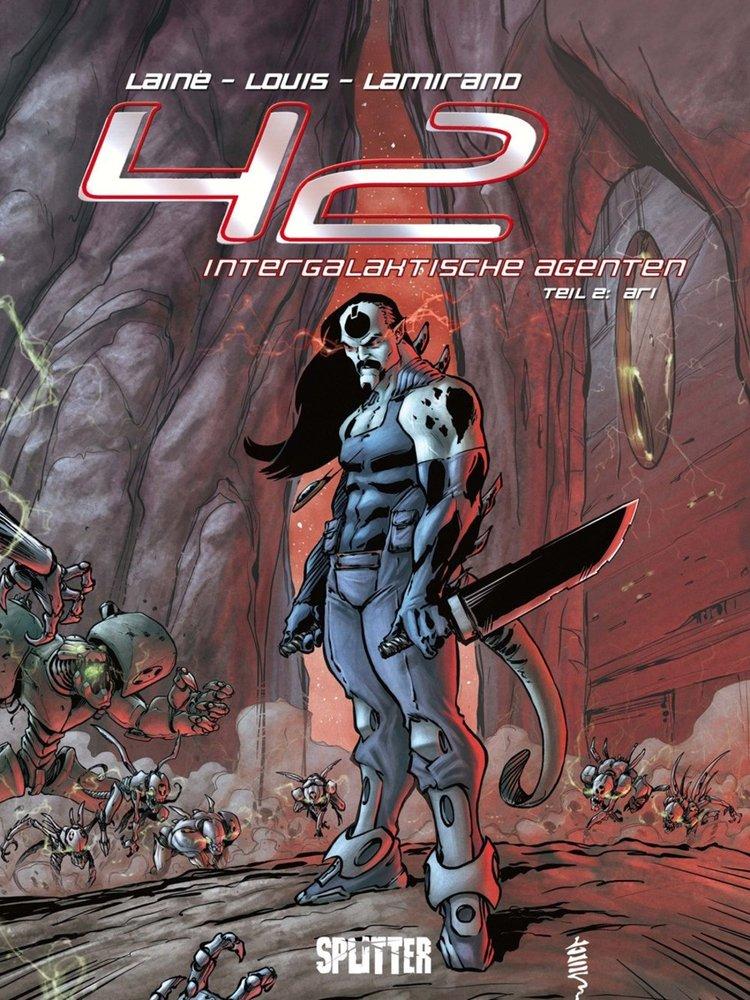 Cover 42 intergalaktische Agenten 2