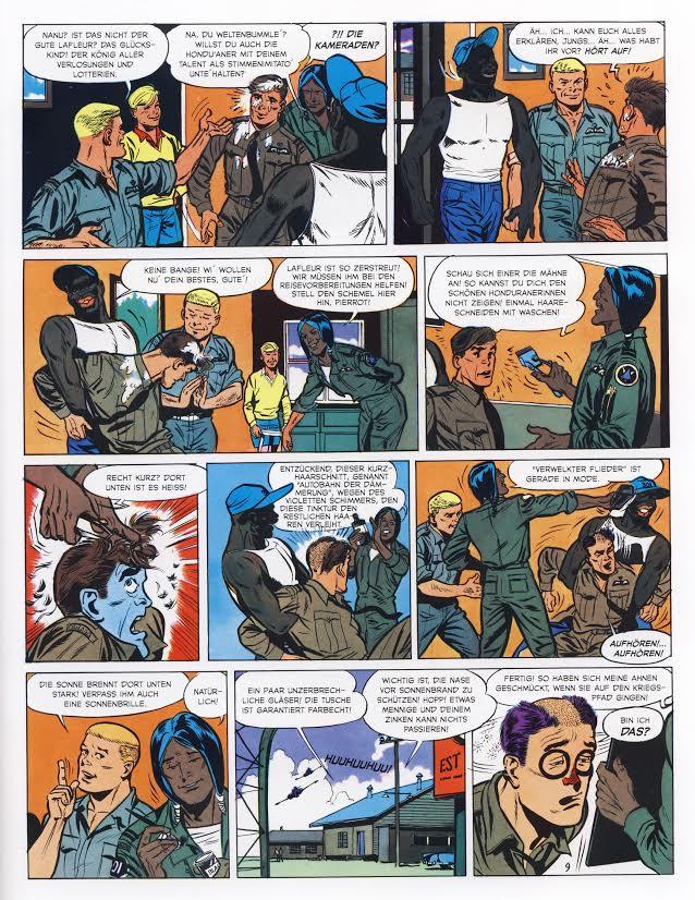Seite aus Dan Cooper Gesamtausgabe 3