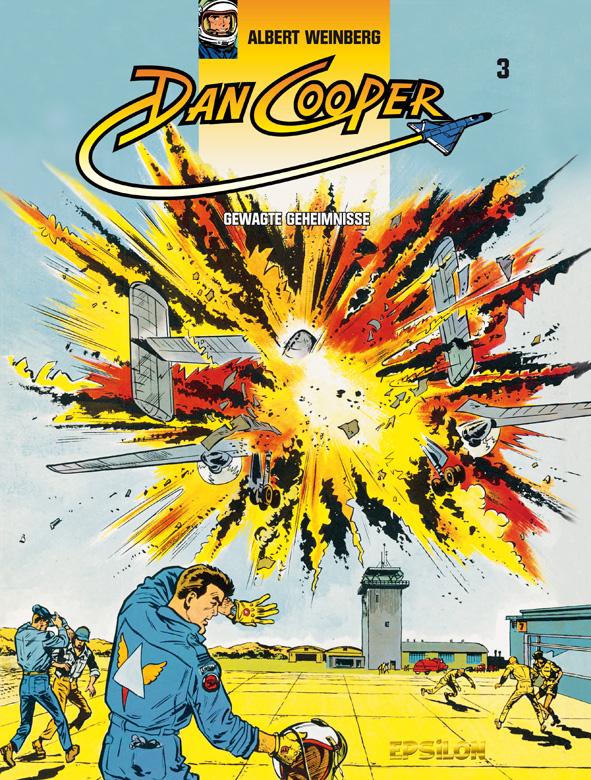 Cover Dan Cooper Gesamtausgabe 3