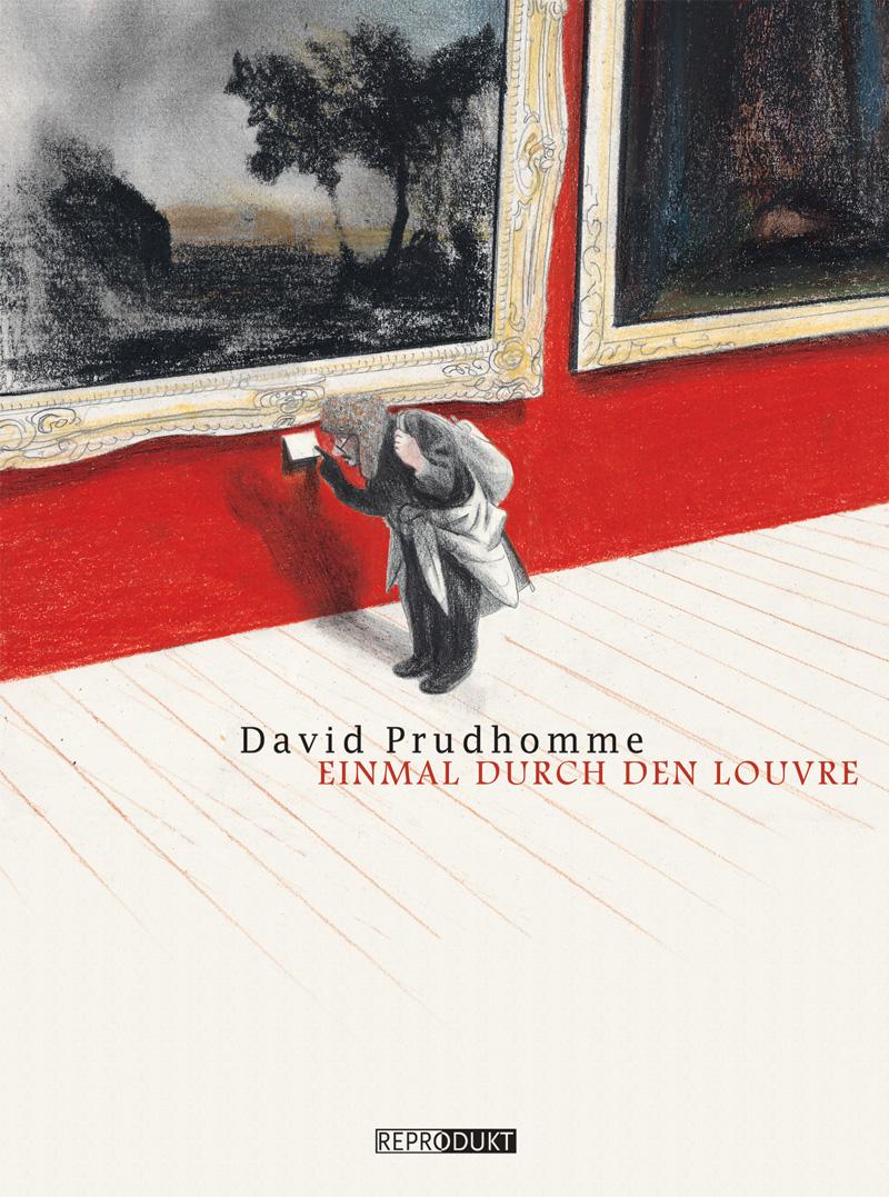 Cover Einmal durch den Louvre