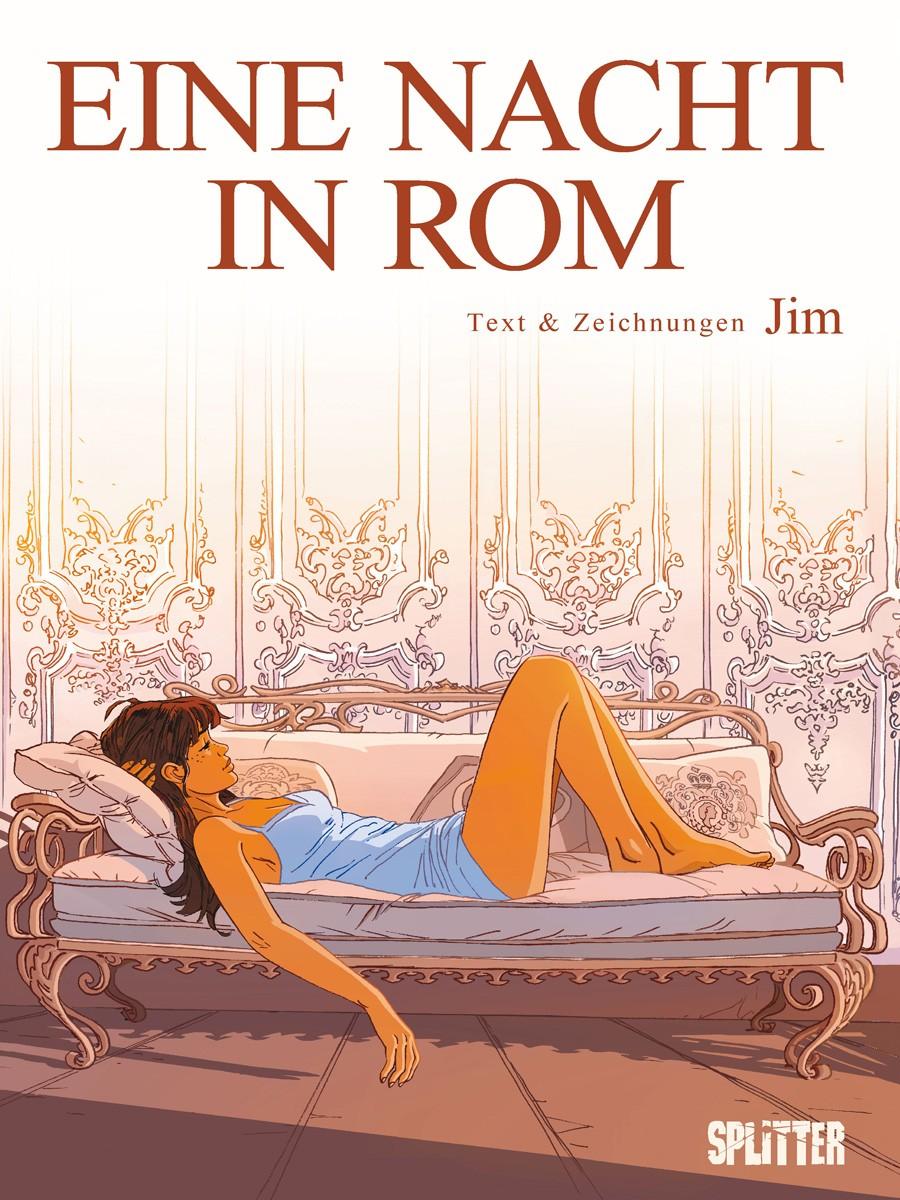 Cover Eine Nacht in Rom 1