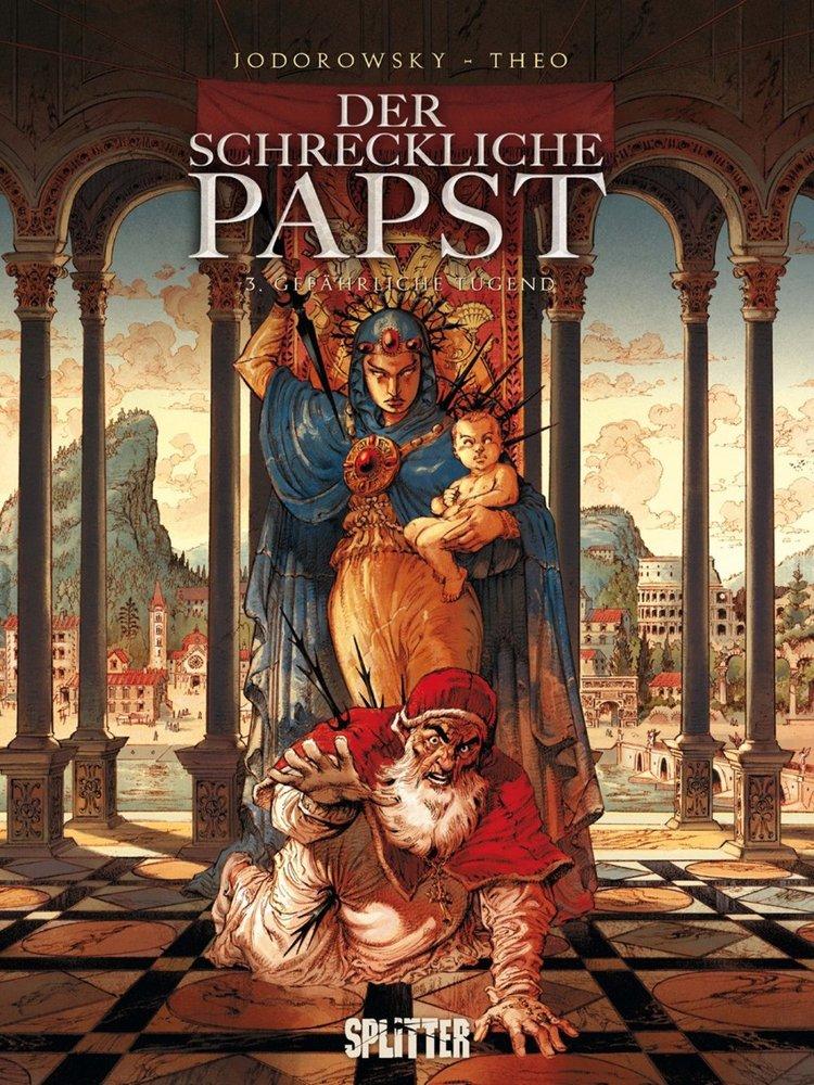 Cover Der schreckliche Papst 3