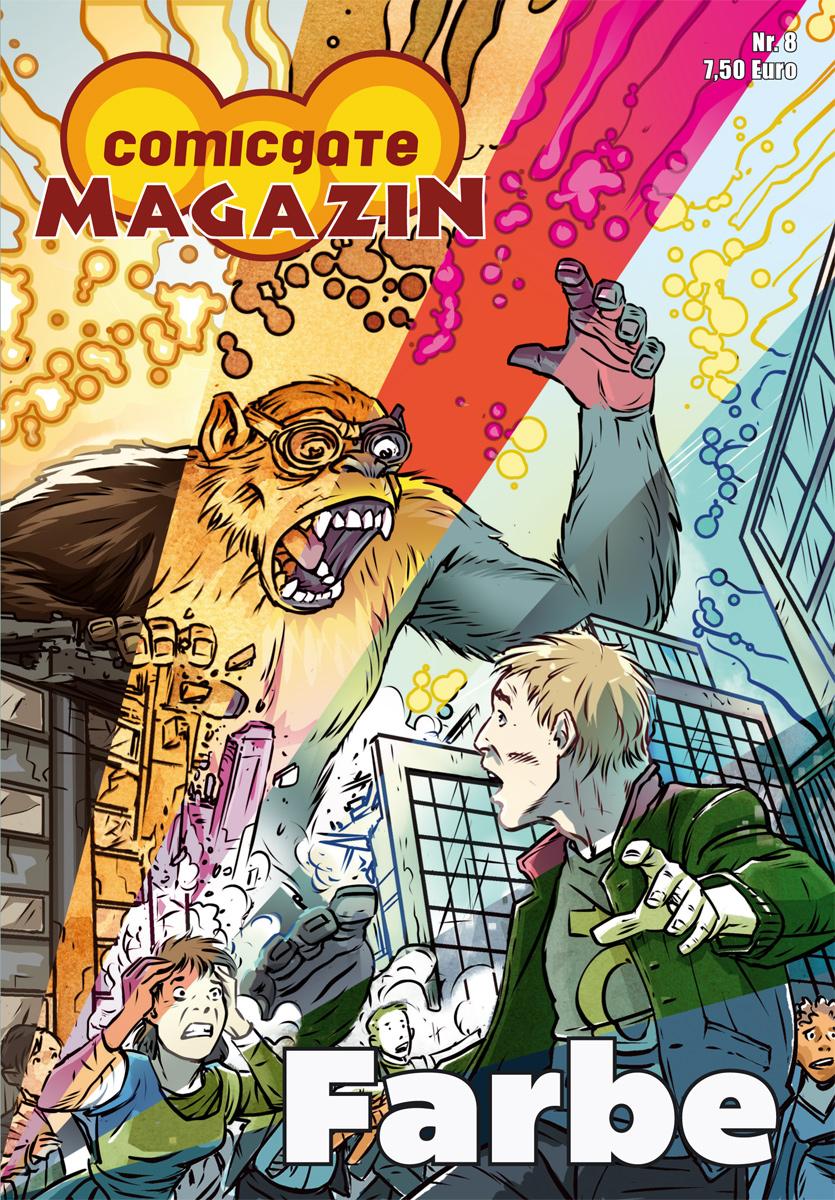 Cover Comicgate-Magazin 8