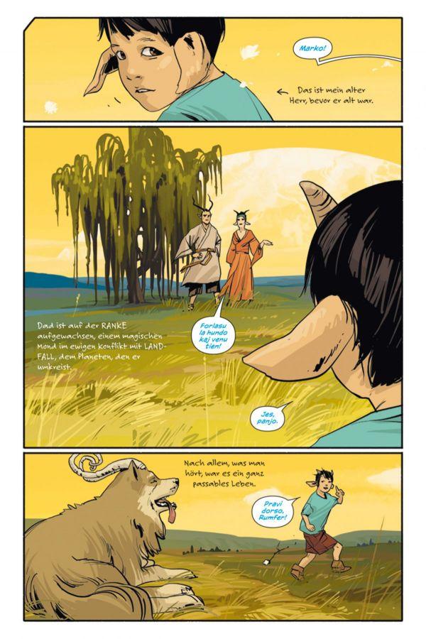 Seite aus Saga 2