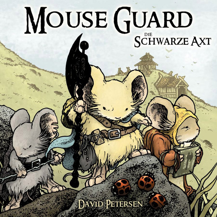 Cover Mouse Guard – Die schwarze Axt