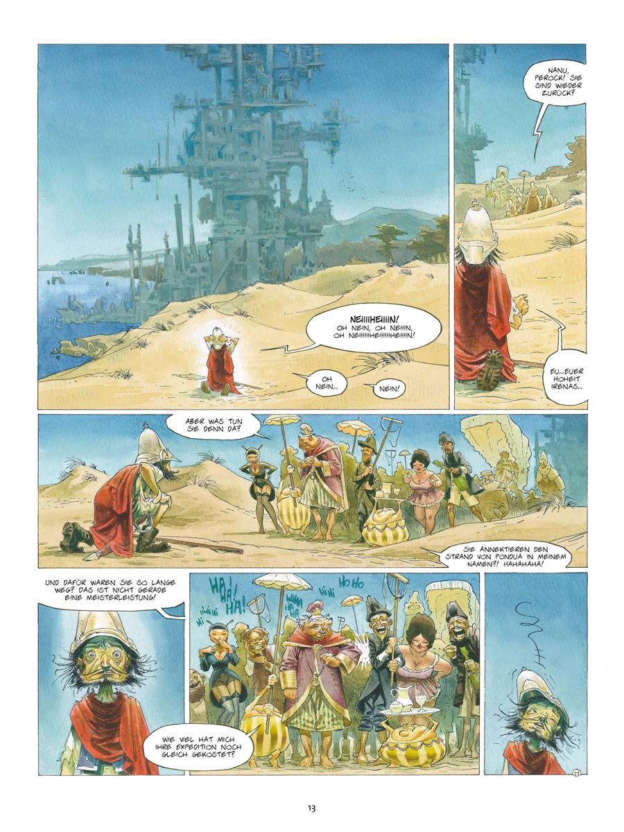 Seite aus Azimut 1