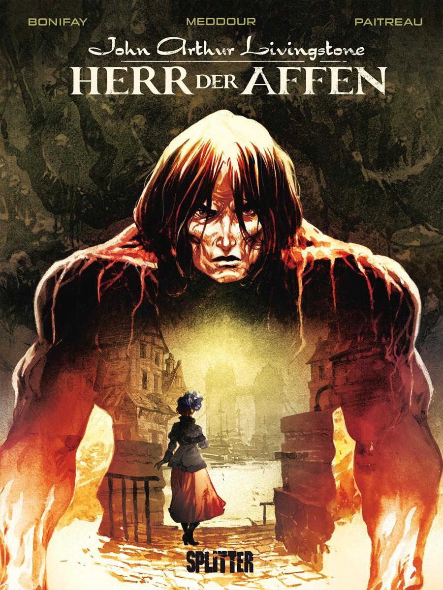 Cover Herr der Affen 1