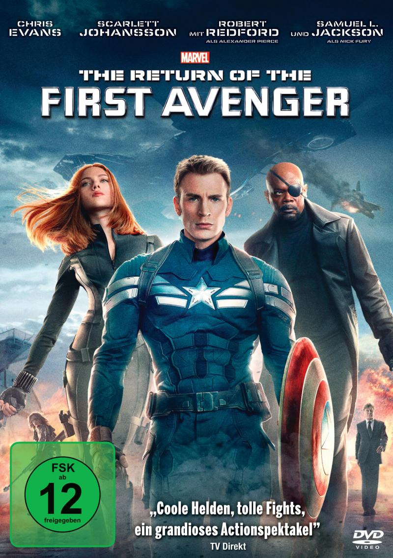 DVD Cover The Return of the First Avenger