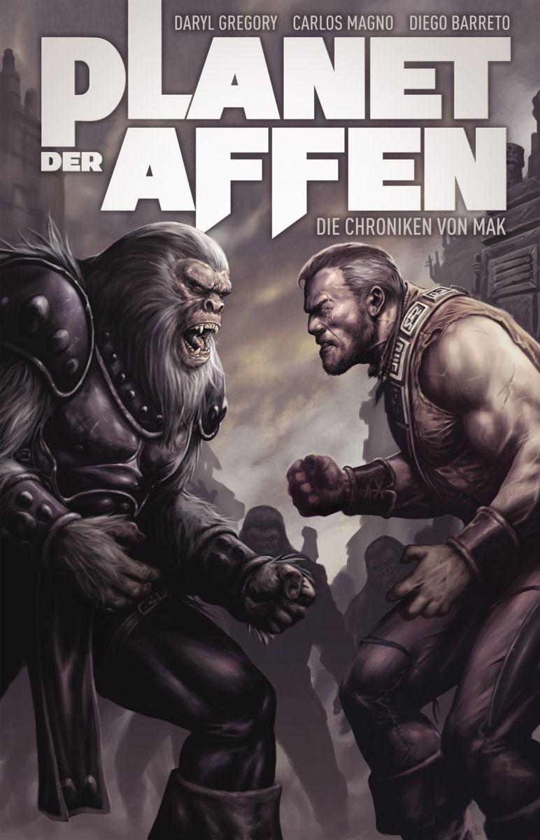 Cover Planet der Affen – Die Chroniken von Mak