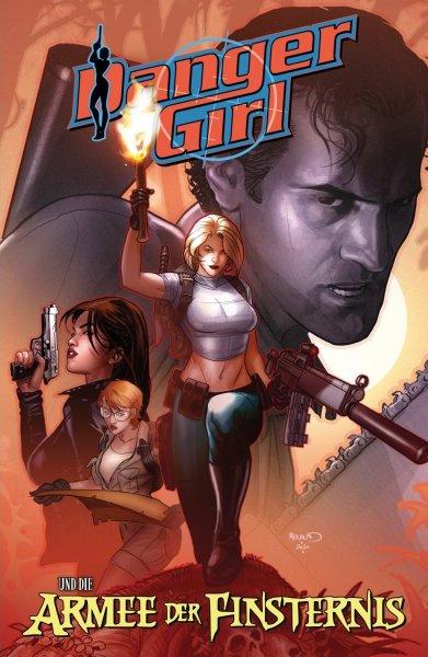 Cover Danger Girl und Die Armee der Finsternis