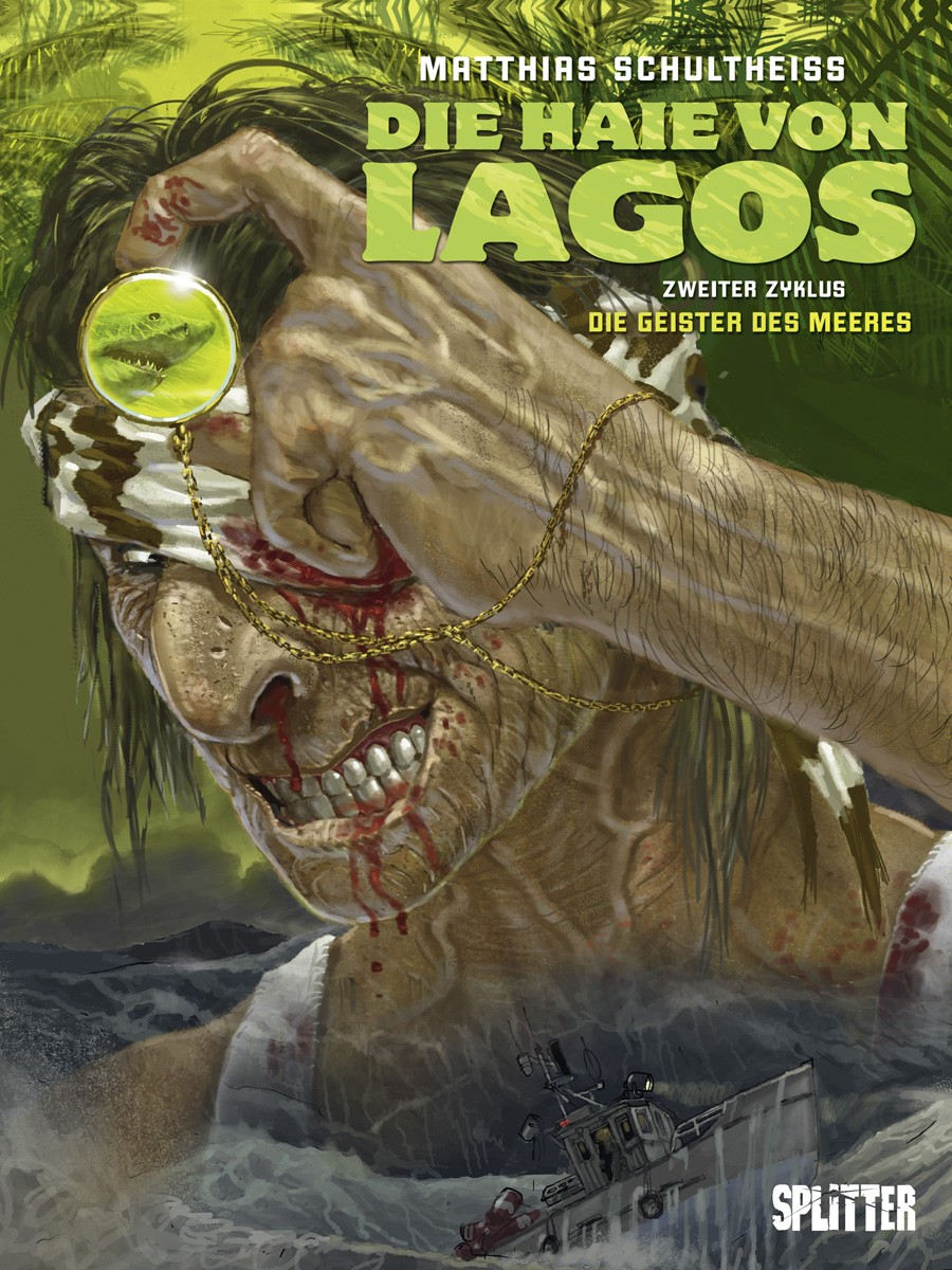 Cover Die Haie von Lagos 4