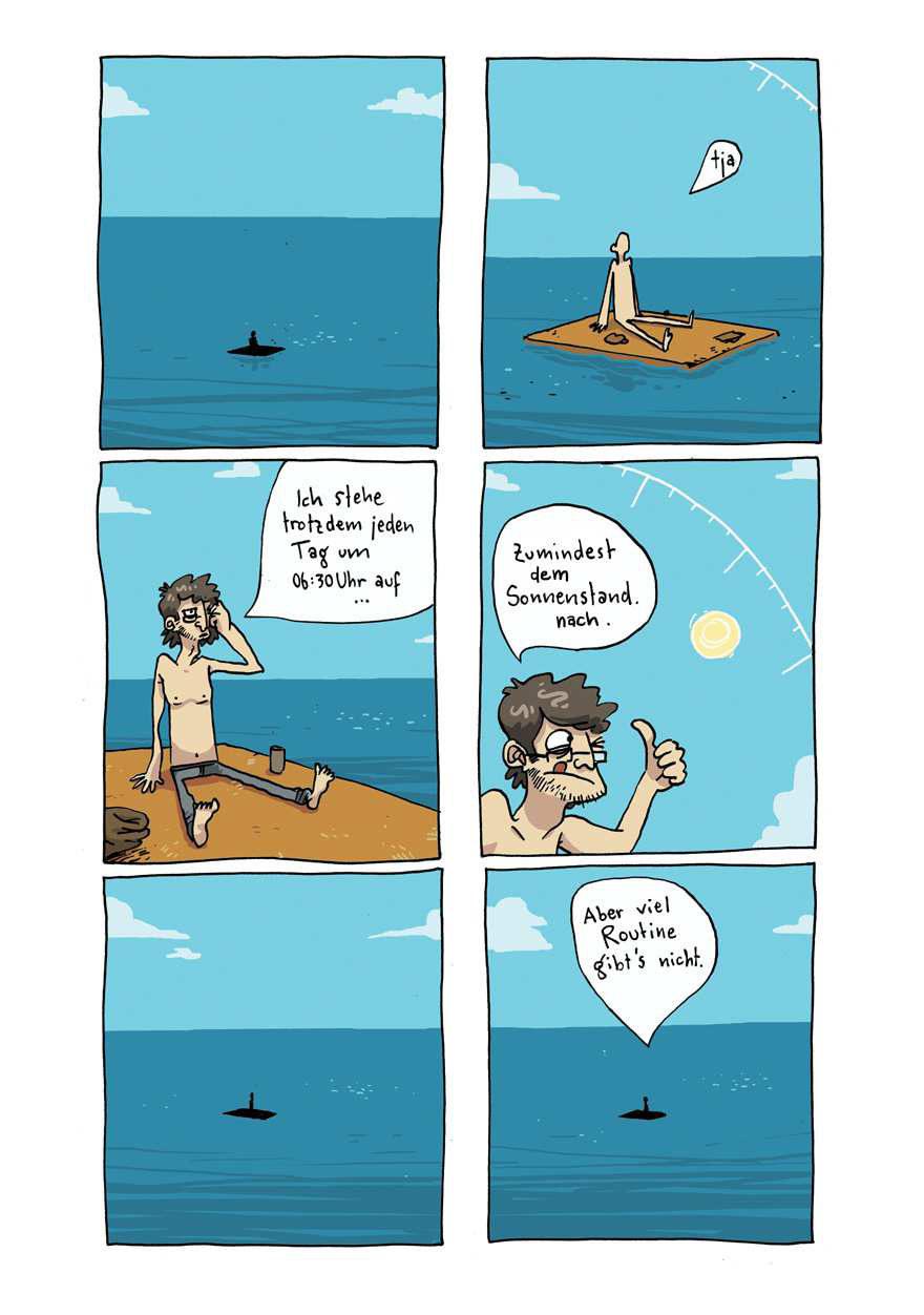 Von Bewegung kann keine Rede sein aus Als ich mal auf hoher See verschollen war