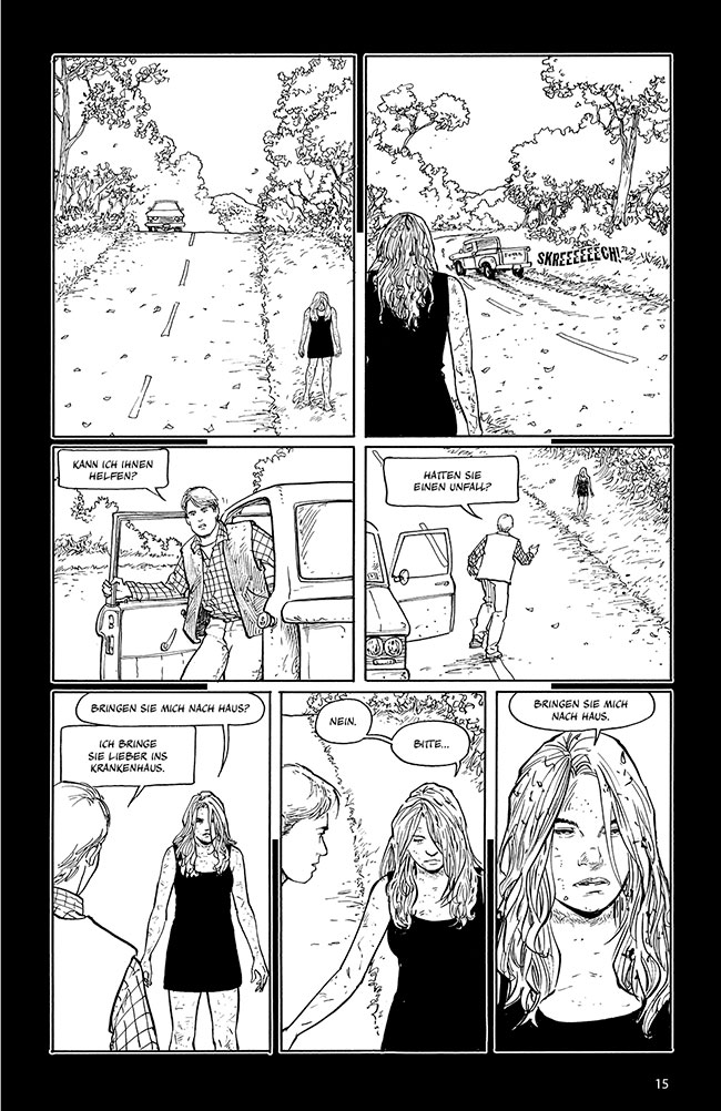 Seite aus Rachel Rising 1