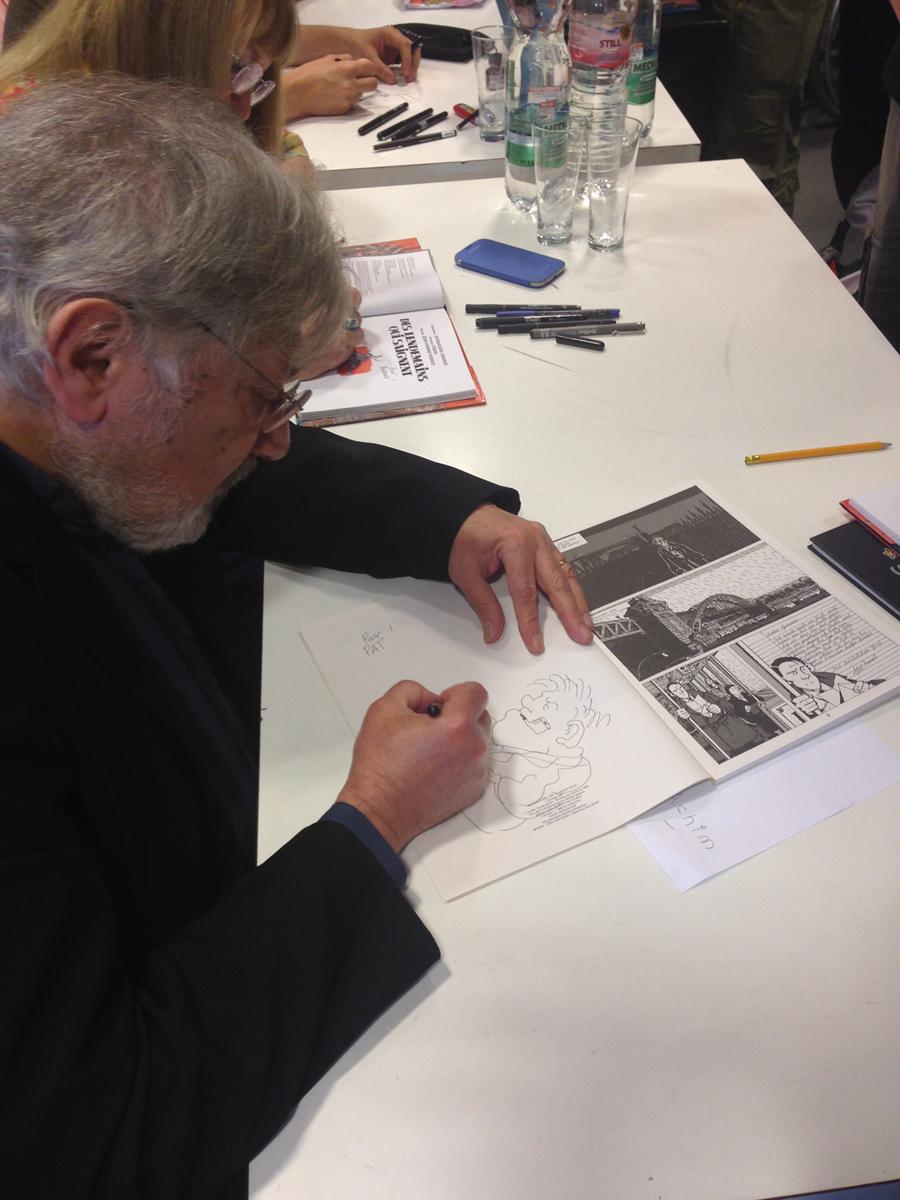 Jacques Tardi signiert