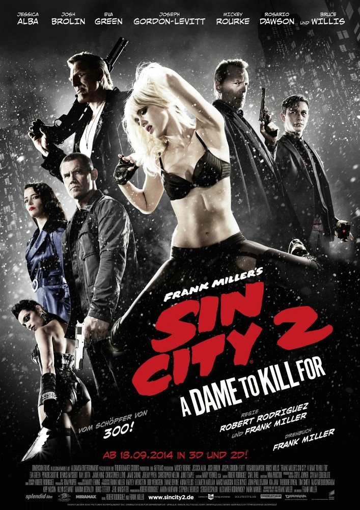 Poster Sin City 2: A Dame to Kill For