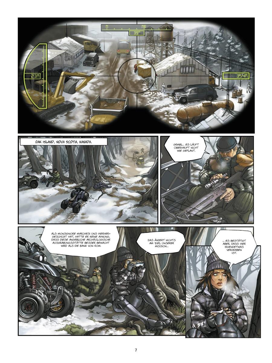 Seite aus Cross Fire 1