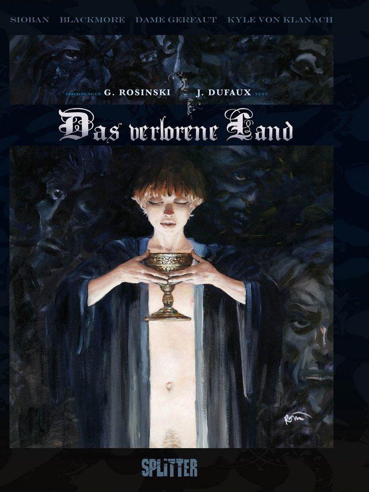 Cover Das verlorene Land