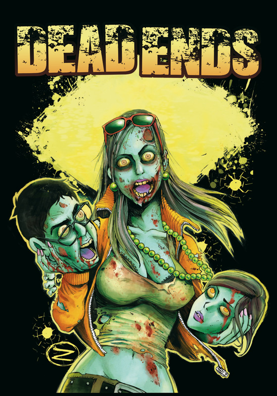 Cover vom Zombiecomic Dead Ends