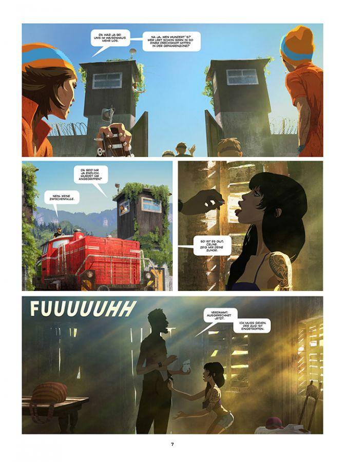 Seite aus Gung Ho 1