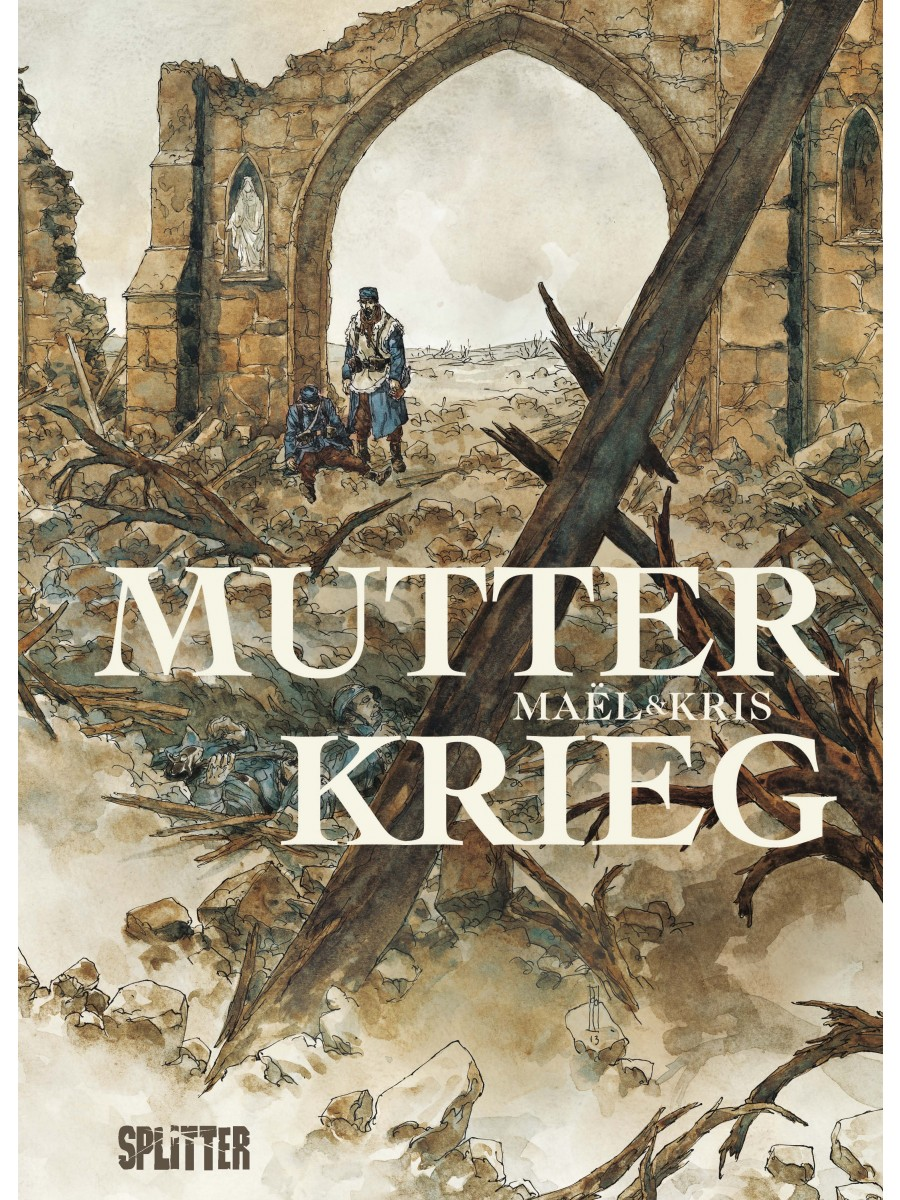 Cover Mutter Krieg