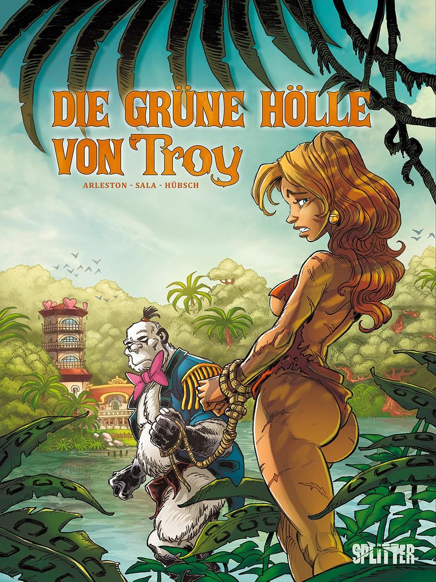 Cover Die grüne Hölle von Troy