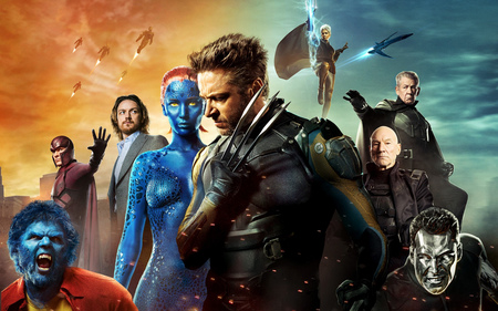Promo-Artwork für X-Men: Days of Future Past