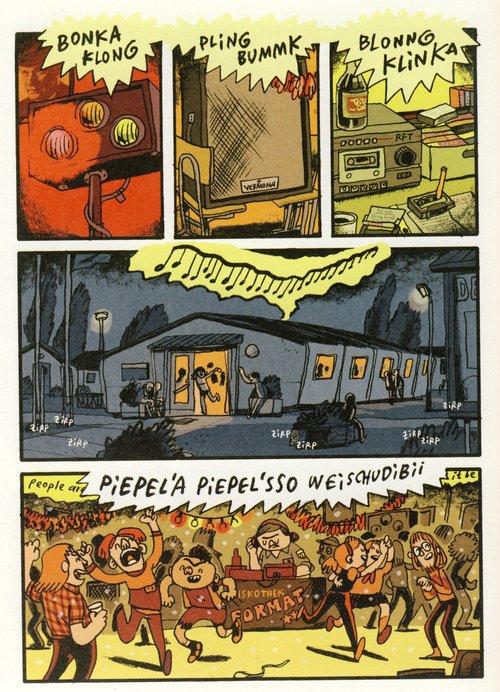 Seite aus Kinderland: People are people