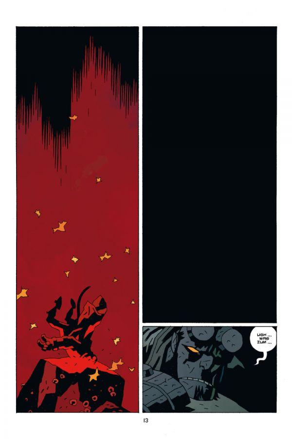 Seite aus Hellboy 13