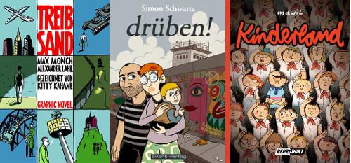 Deutsche Comics zum Themenkomplex Mauerfall