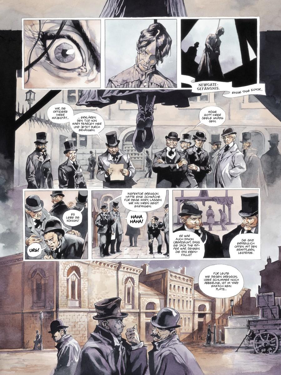 Seite aus Scotland Yard