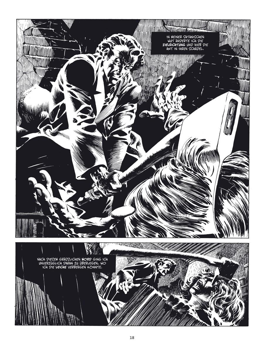 Seite aus Creepy präsentiert: Bernie Wrightson